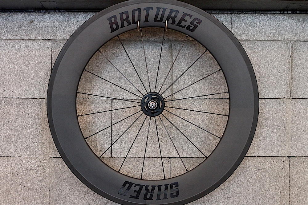 BROTURES SHRED88 LEADER BIKES 735TR CARBON WHEEL