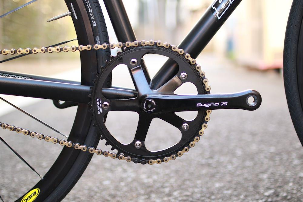 SUGINO CHAINRING CRANK PIST ROAD VERTEX BROTURES LEADERBIKES