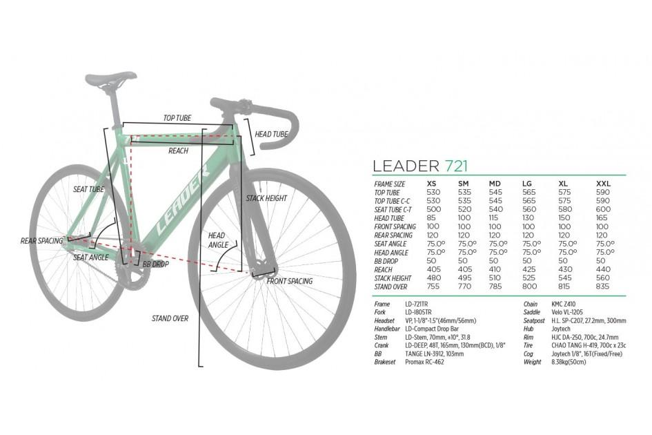 LEADER BIKES 721TR COMPLETE BIKE