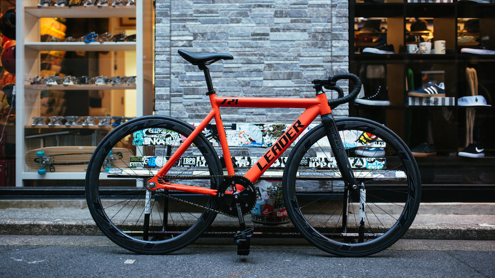 LEADER BIKES BROTURES KICHIJOJI L44 CARBON WHEEL FULL DROP COMPLETE BIKE ONE POINT