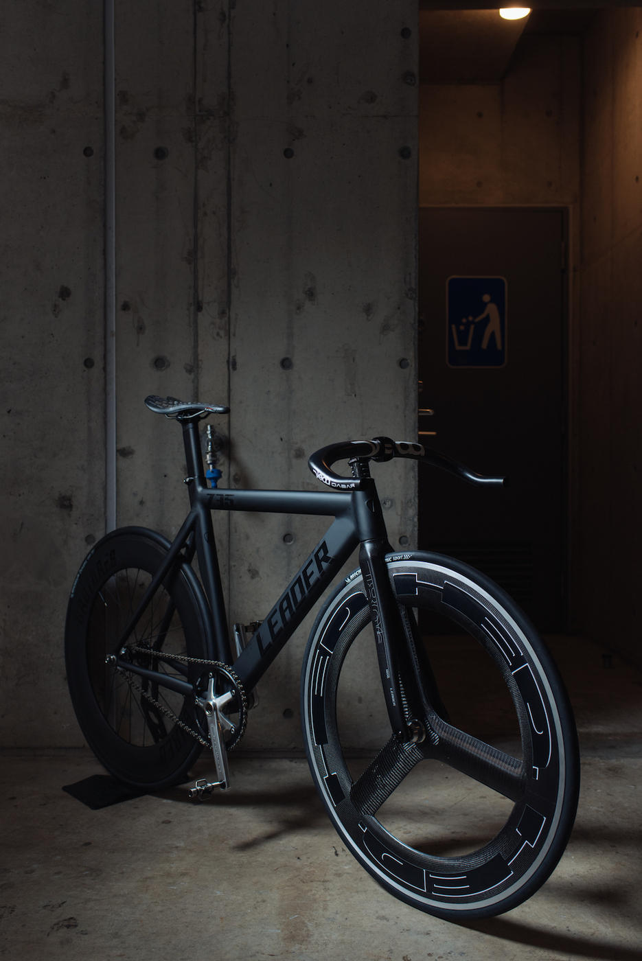 LEADER BIKES 735TR COMPLETE CUSTOM BROTURES KICHIJOJI FIXED FIXI HED H3D SHRED88 DABAR DEDA TIOGA SPYDER TWIN TAIL2