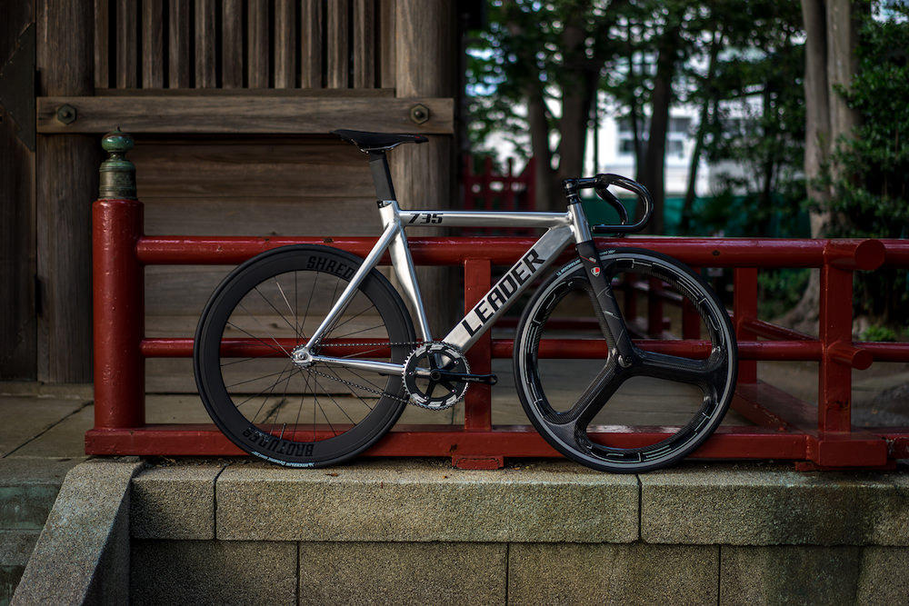 LEADER BIKES,LEADER BIKE,リーダーバイク,BROTURES,ブローチャーズ,ピスト,ピストバイク,バトンホイール,ピスト HED,HED,H3