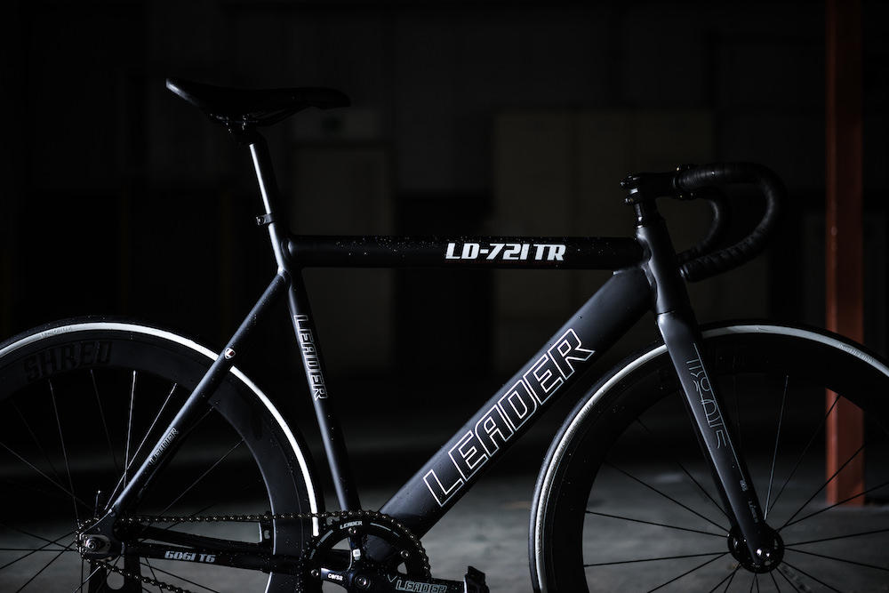 BROTURES KICHIJOJI LEADER BIKES 721TR LIMITED GLOSS WHITE COLLOR SHRED60 FIXI FIXED SINGLESPEED