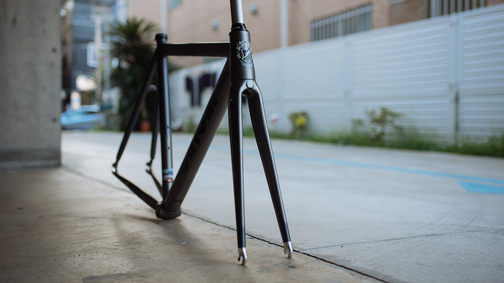 CINELLI MASH BOLT BROTURES KICHIJOJI GREEN FRAME SET FIXED FIXI SINGLE SPEED