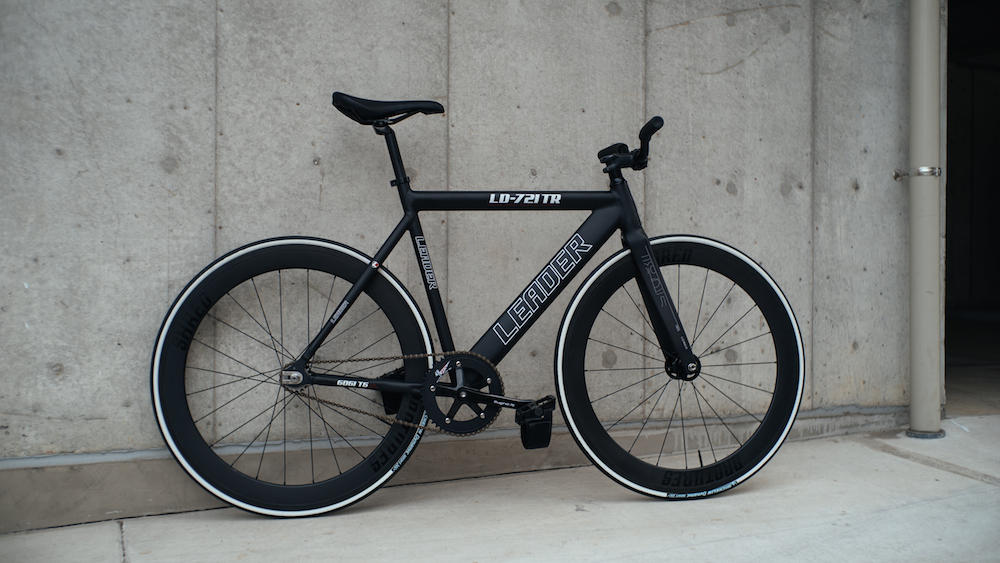 LEADER BIKES 721TR RETRO BROTURES KICHIJOJI FIXED FIXI SINGLE SPEED FIXED GEAR