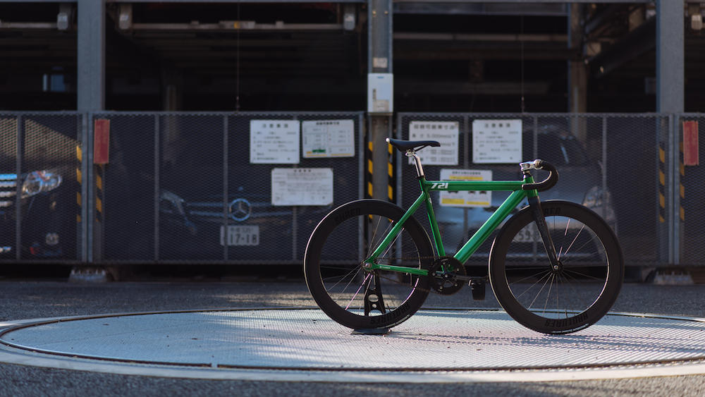 BROTUERS KICHIJOJI LEADER BIKES 721TR CANDYGREEN SHRED60 THOMSON
