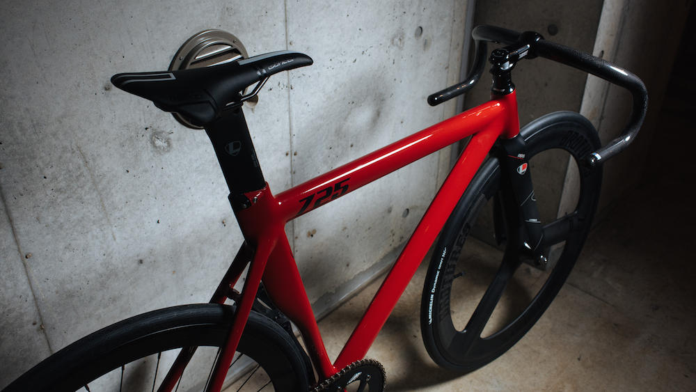 LEADER BIKES 725TR GLOSSRED LIMITED COLOR BROTURES KICHIJOJI