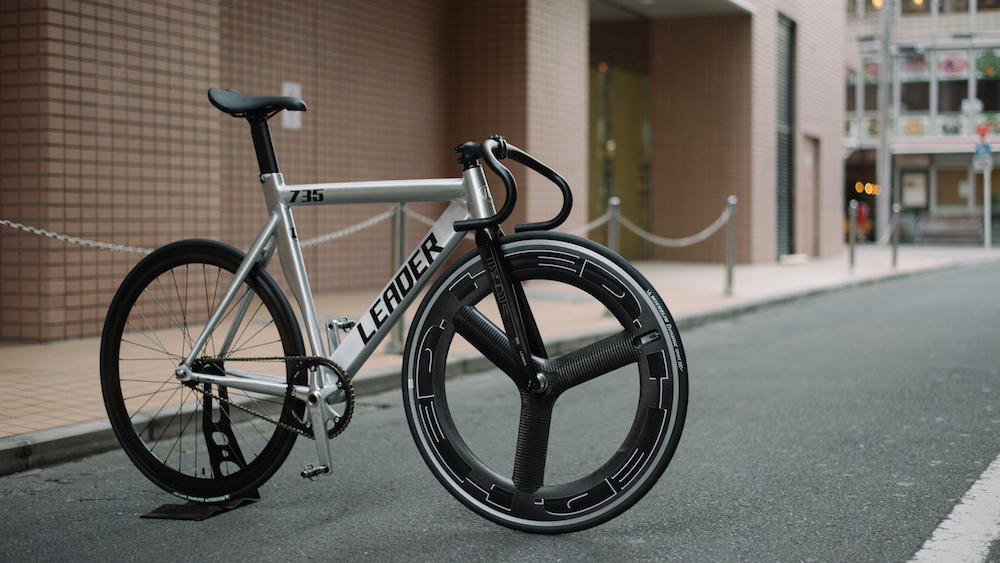 BROTURES KICHIJOJI LEADER BIKES 735TR POLISH FIXED FIXI SINGLE GEAR