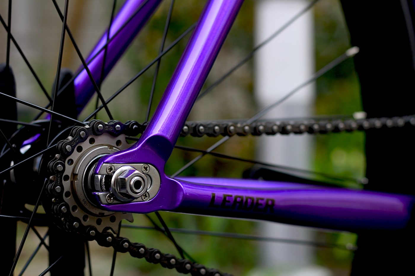 LEADER BIKE 735 CUSTOM COLOR PURPLE